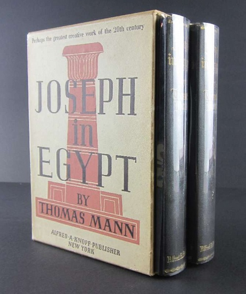 Mann, ThomasJoseph in Egypt. Translated from the German by H. T. Lowe-Porter.