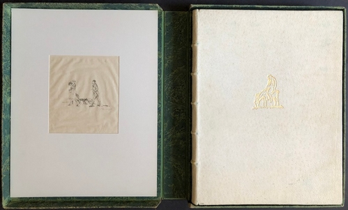 Ovid und Max SlevogtDes Publius Ovidius Naso Lehrbuch der Liebe. Deutsch von Ernst Hohenemser.
