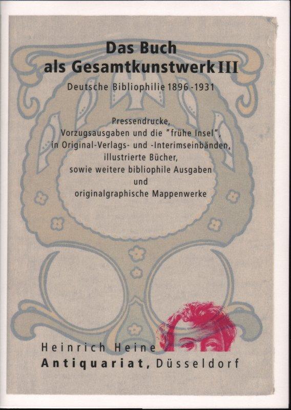 Kataloge Eigene Gedruckte Heinrich Heine Antiquariat Düsseldorf