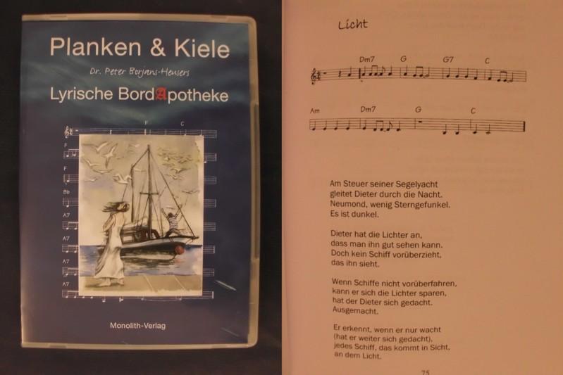 9783981179170 - Borjans-Heusers, Peter: Planken & Kiele - Lyrische Bordapotheke - Livre