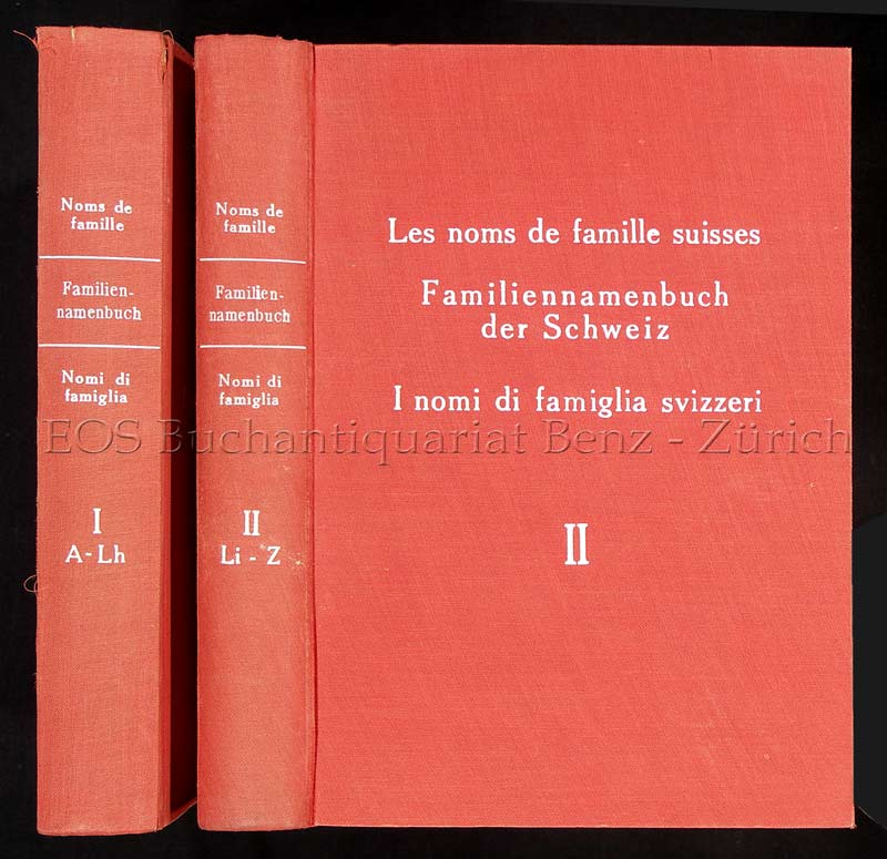 Noms de famille suisses