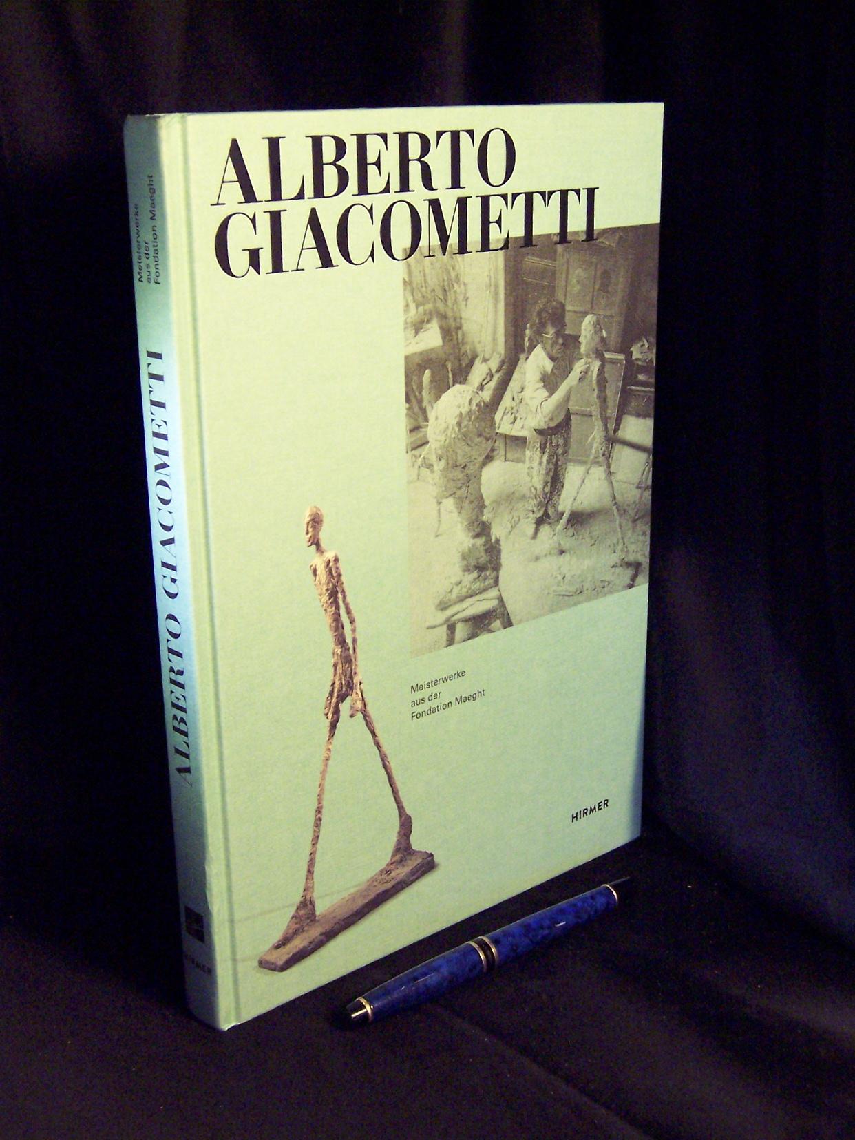 Alberto Giacometti - Meisterwerke aus der Foundation Maeght - Müller, Markus (He