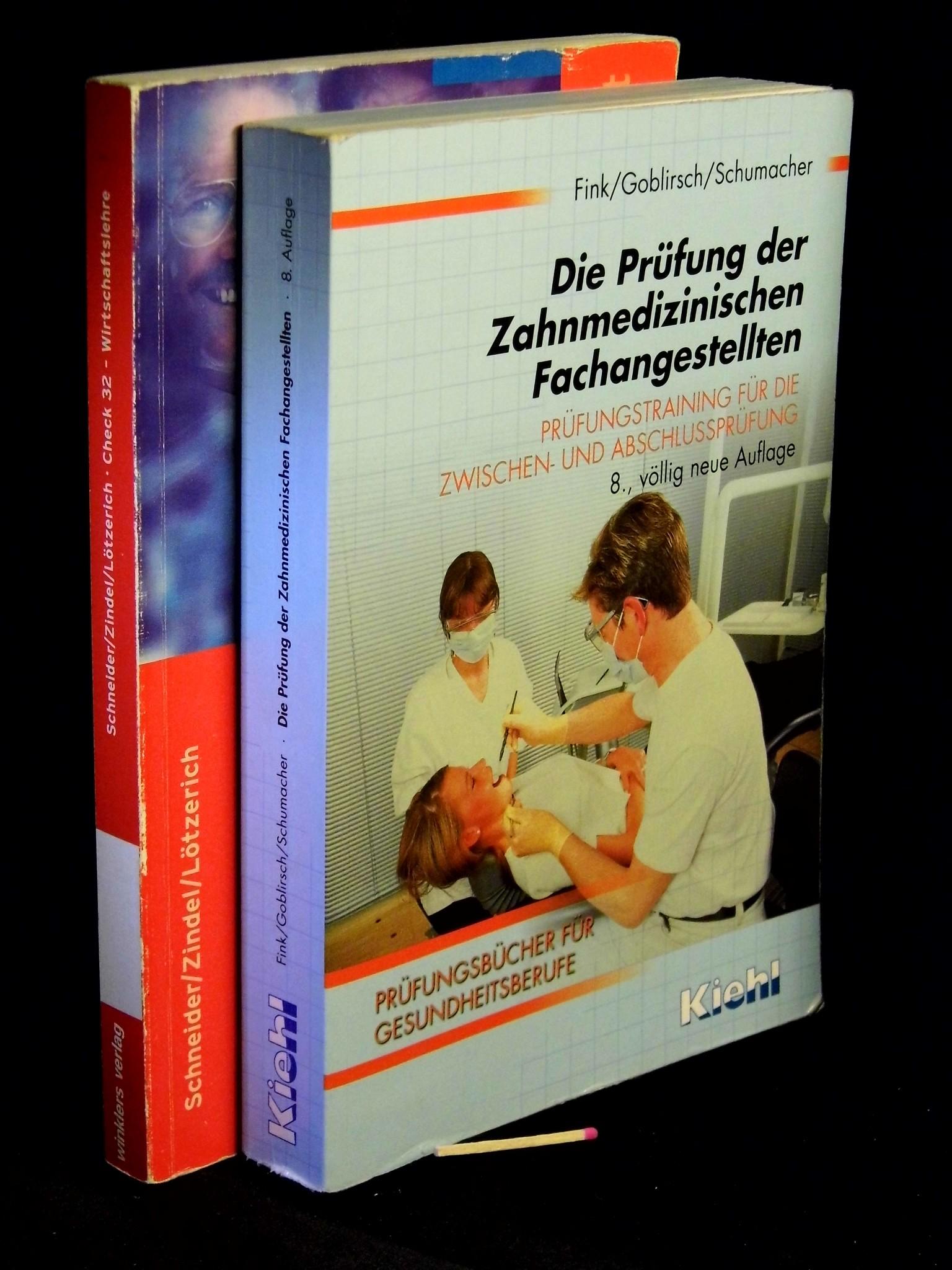 Prüfung zahnmedizinischen Fachangestellten Check 32 Wirtschaftslehre Fink Goblir