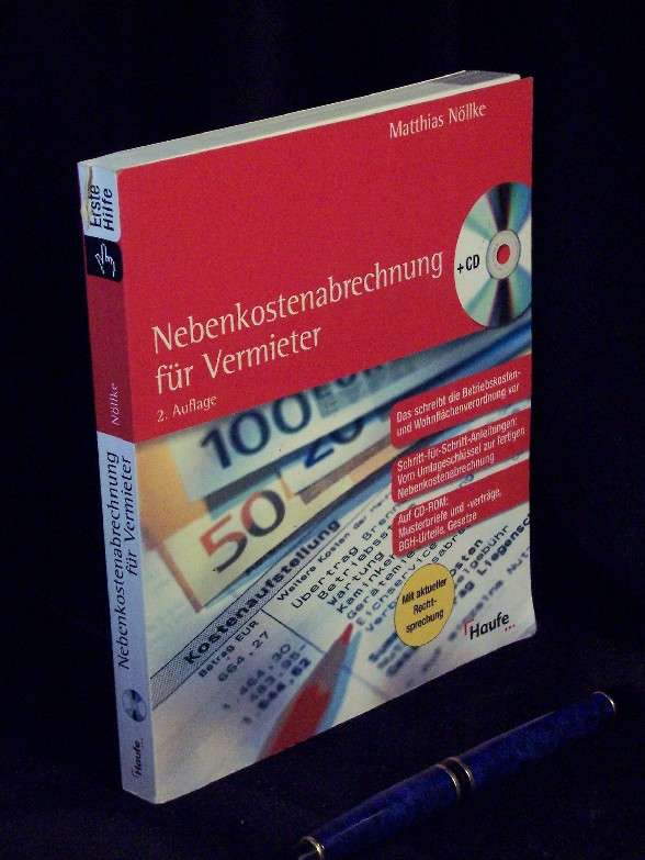 Nebenkostenabrechnung für Vermieter - Nöllke, Matthias