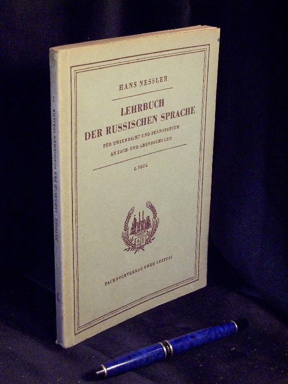 Lehrbuch Russischen Sprache Unterricht Fernstudium Fach- Abendschulen 1. Nessler